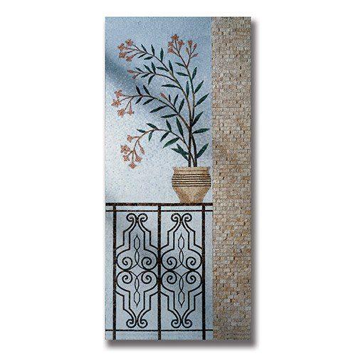 Panels - Le Beau Oleander Panel (H)