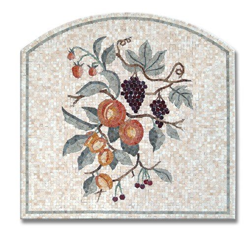Panels - Fruit Panel with Arch & Frame (H)