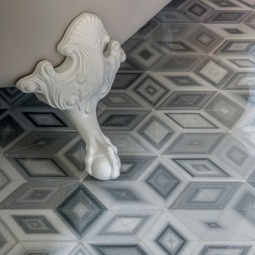 The Akdo Origami Collection Tile