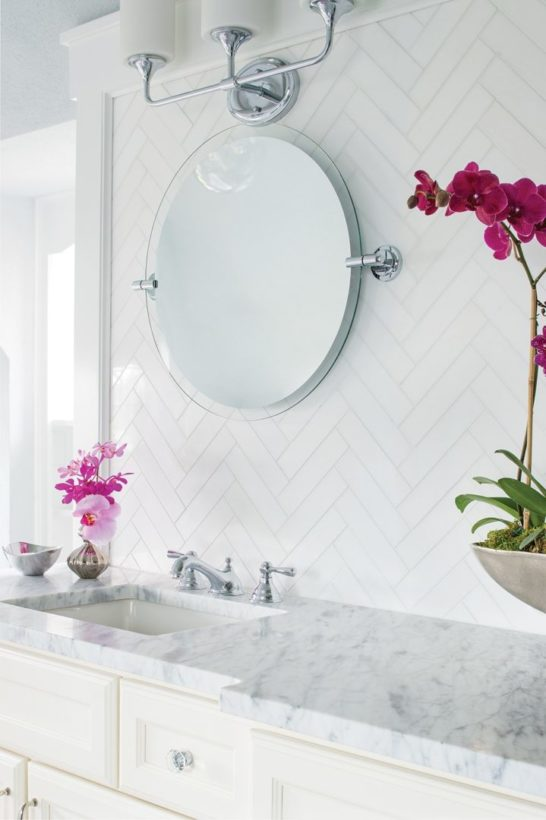Thassos Bathroom AKDO Tile Dealers - Thassos white marble bathroom
