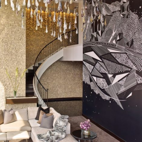 Maximalism in Hospitality Design. Hotel Design. NY Palace Hotel. Champagne Suite.