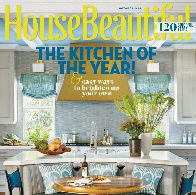 As seen on the cover of House Beautiful.