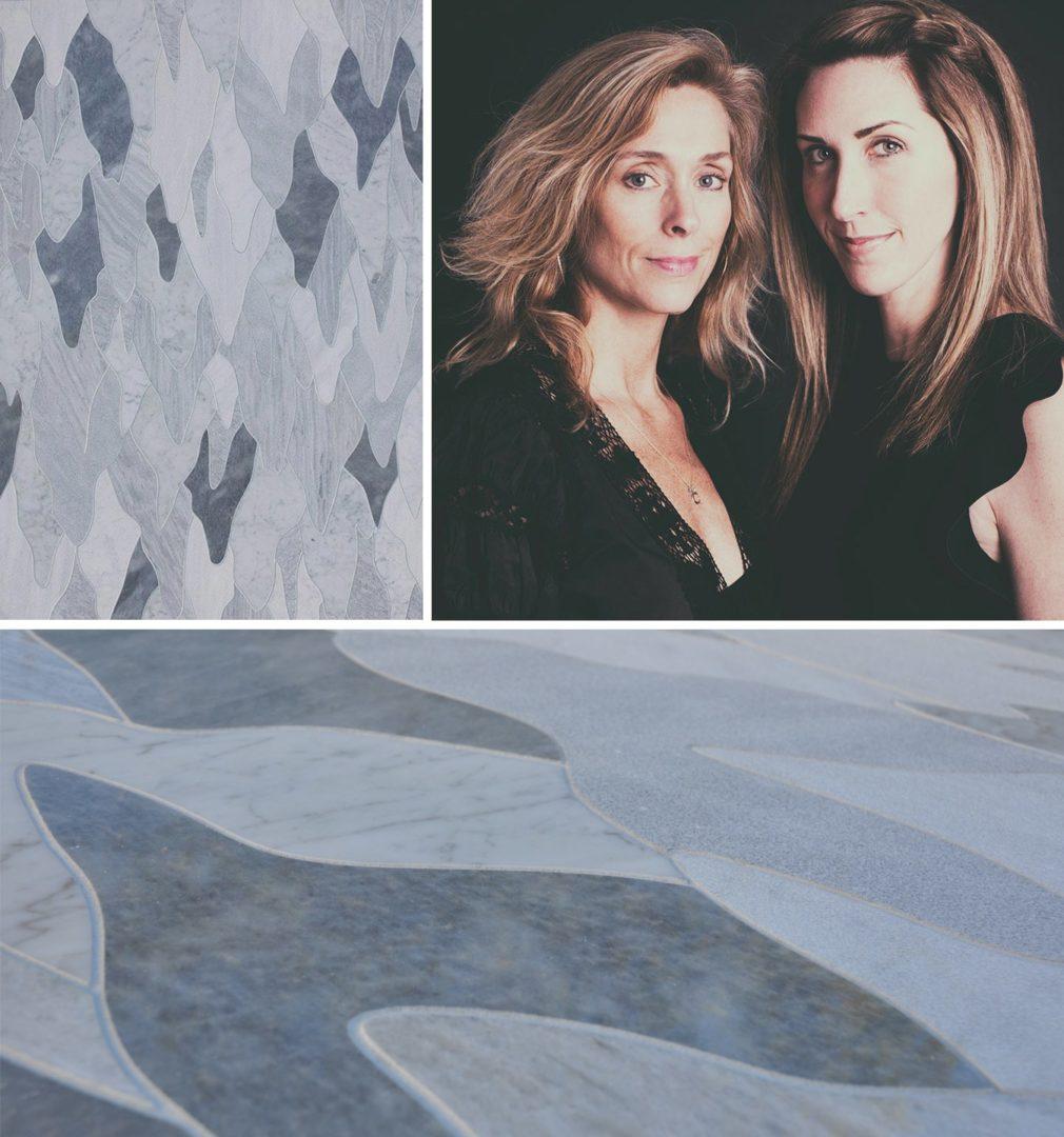 Custom mosaic by Krista Nye Nicholas & Tami Ramsay.