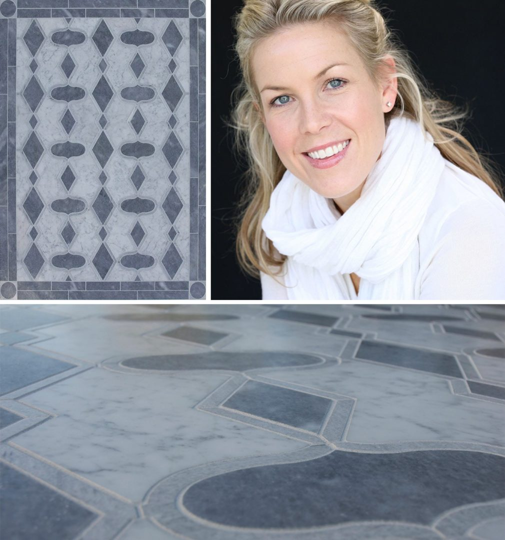Custom mosaic by Meredith Ellis.