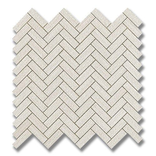 Room Wall White - Herringbone Room Wall White (Matte)