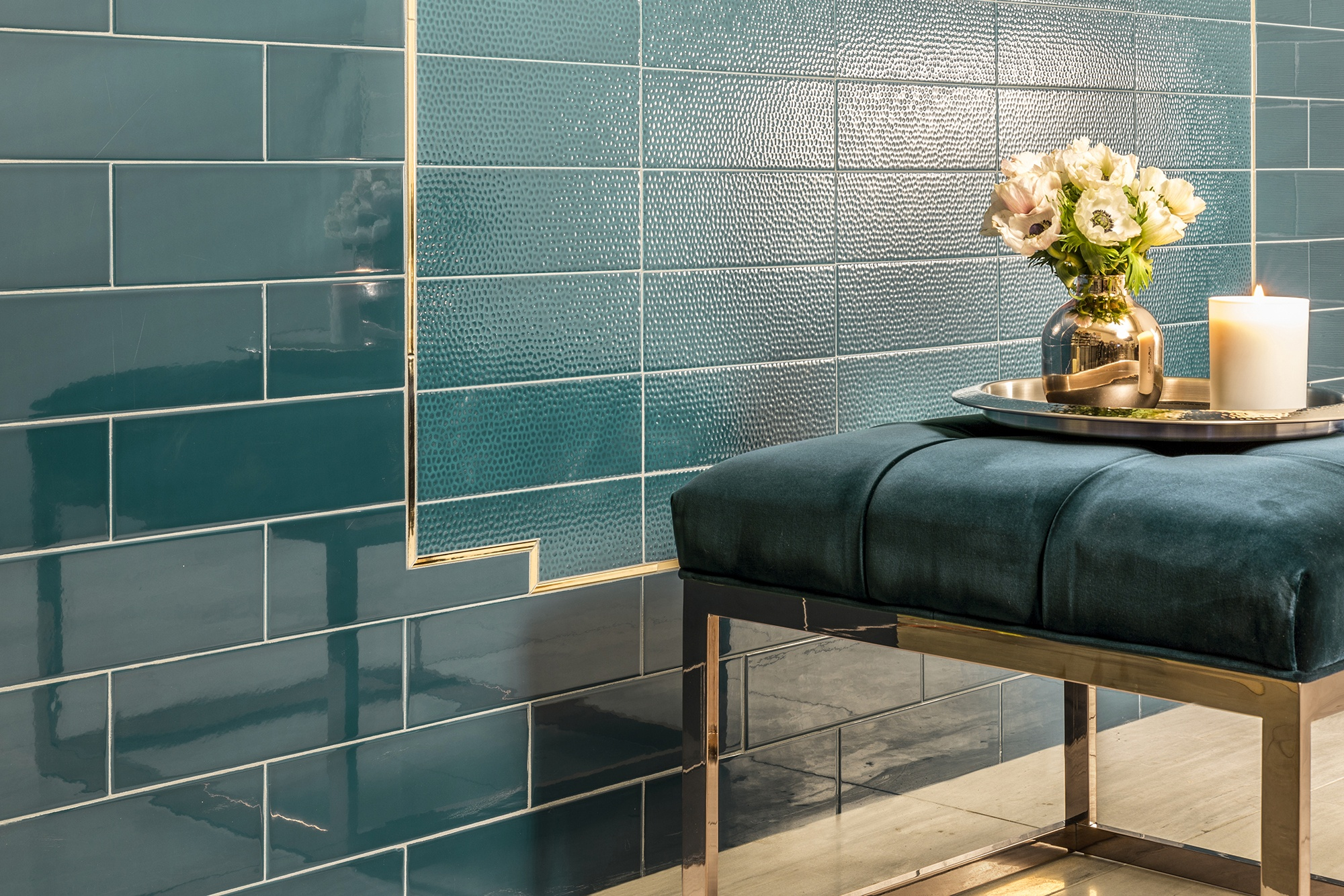 Daring Design Teal Tile Akdo