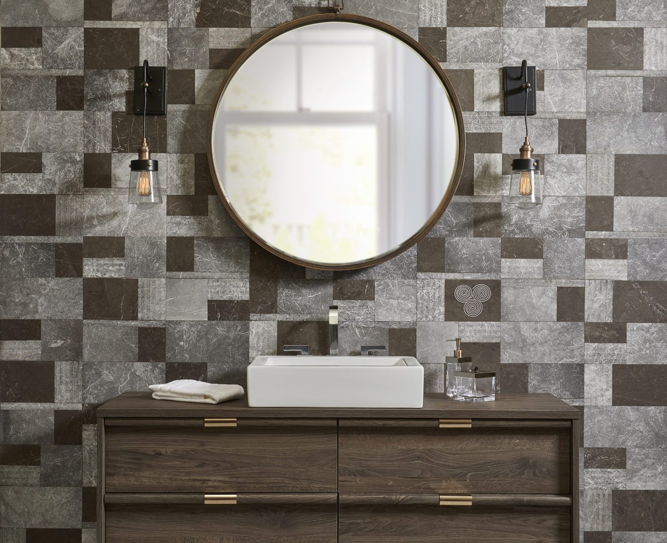 Kaya By Clodagh Geometry In Natural Stone Akdo Tile Dealers
