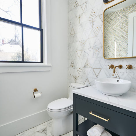 Ethereal Triangle Bathroom Install