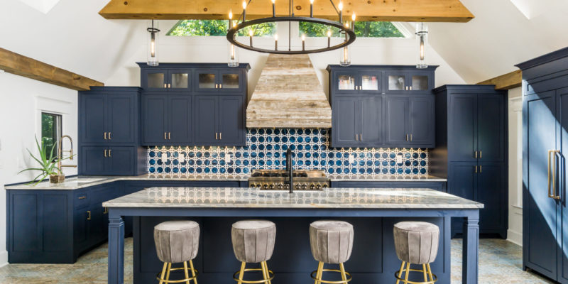 Henry Kim Photography - Essence Whimsy Sapphire Kitchen