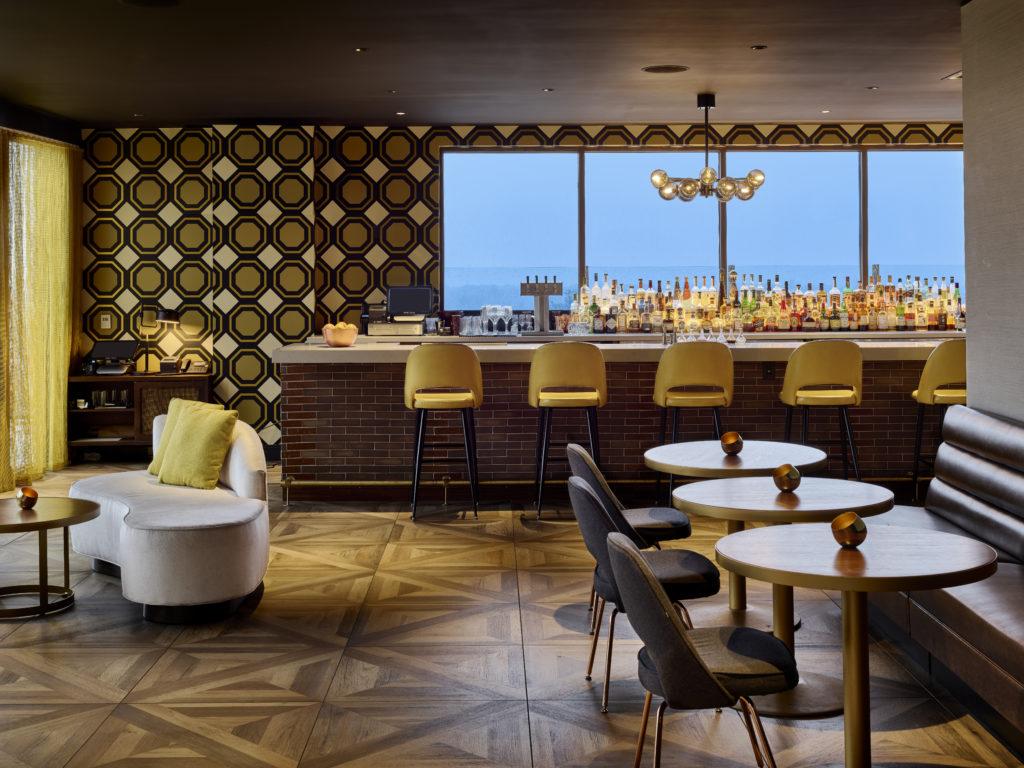 Mid Century Modern Bar at The MC Hotel